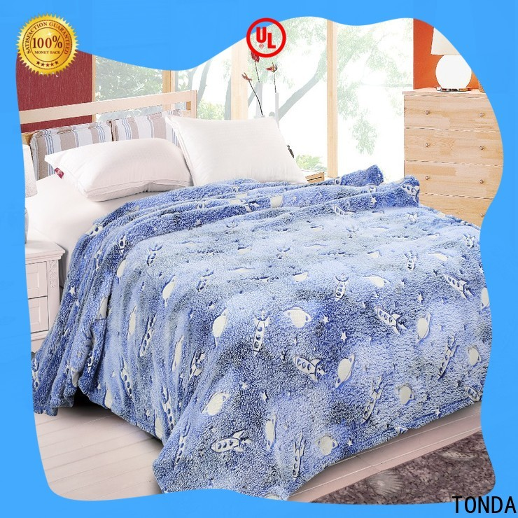 TONDA decorative blanket Supply for bed use