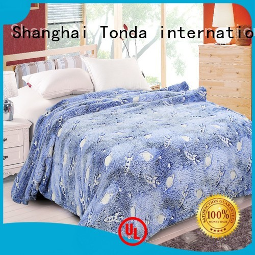 Best bedding blankets and throws Suppliers for bed use