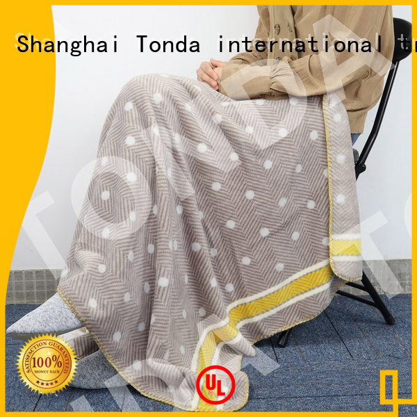 TONDA Latest fuzzy blankets with designs Supply for home decoration