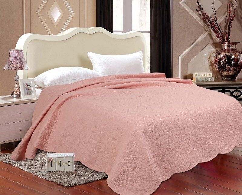Solid Color Quilts Ultrasonic Embossed Quilt