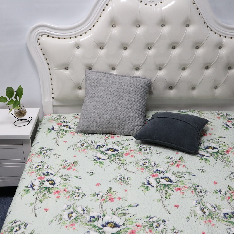 100% Cotton Printed Quilting Quilts & Bedspreads