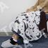 Knee Blankets with Printed Cartoon Series For Baby