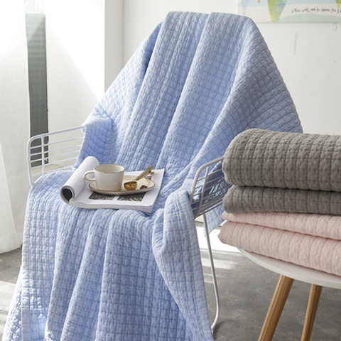 Home Decor Blanket Cozy Classic Waffle Weave Blanket