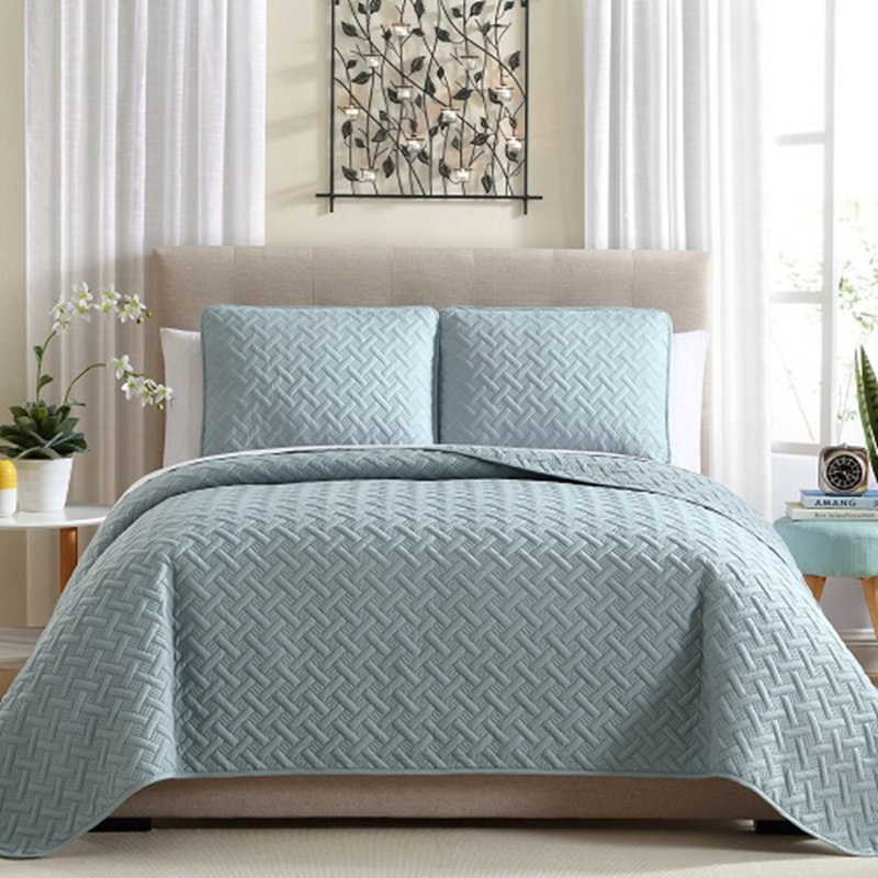 Soft Solid Color Quilts with Abundant Ultrasonic designs