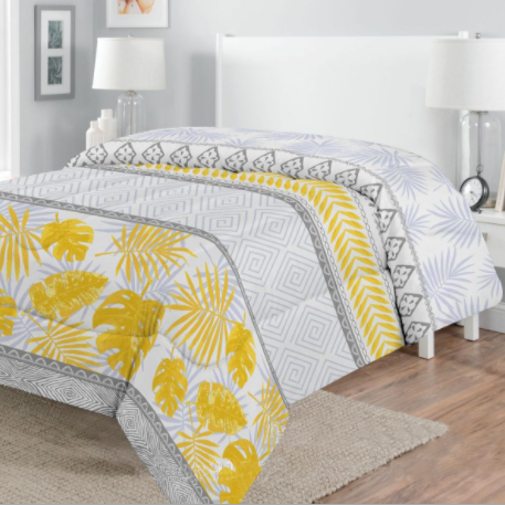 Quilted Comforter sets Printed Microfiber Bedding Series