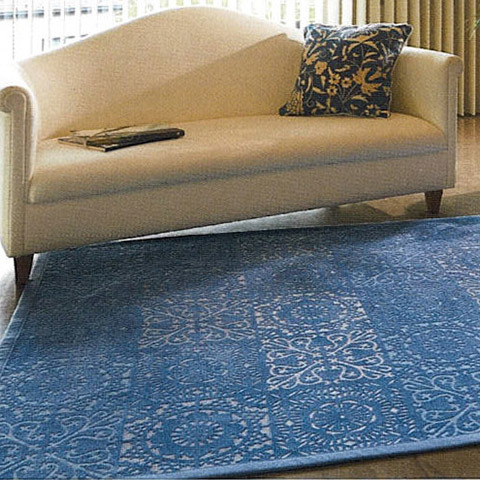 Living Room Cushion Printed Mat and Rug Home Collection