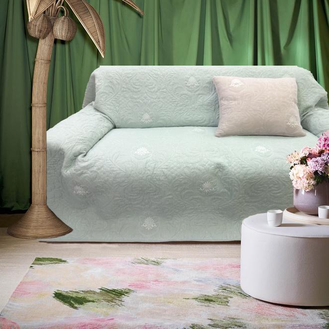 Sofa Cover Advanced Texture Has Connotation