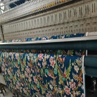 The production of printing quilts