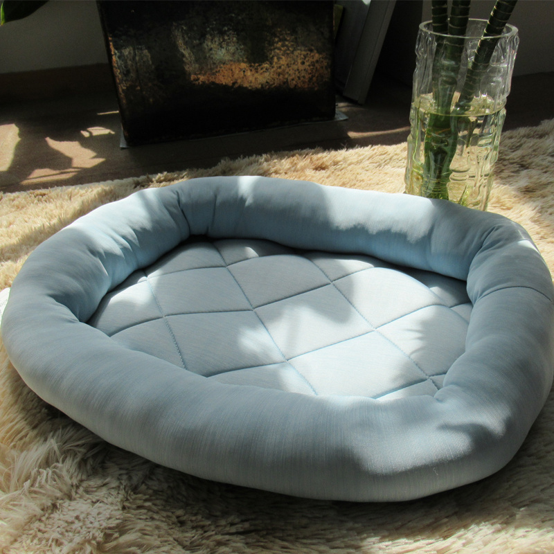 Cool Dog Bed Cushion 75% nylon and 25% viscose Fabric