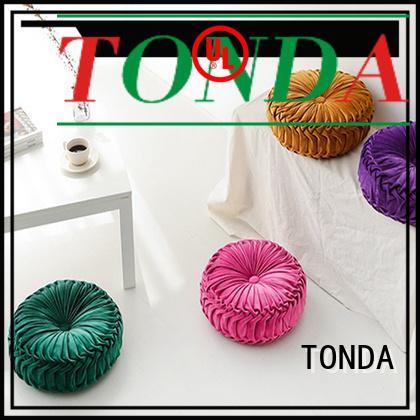 TONDA crushed velvet cushions company for home decoration