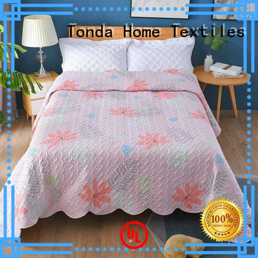 TONDA heavy quilted bedspreads manufacturers for family
