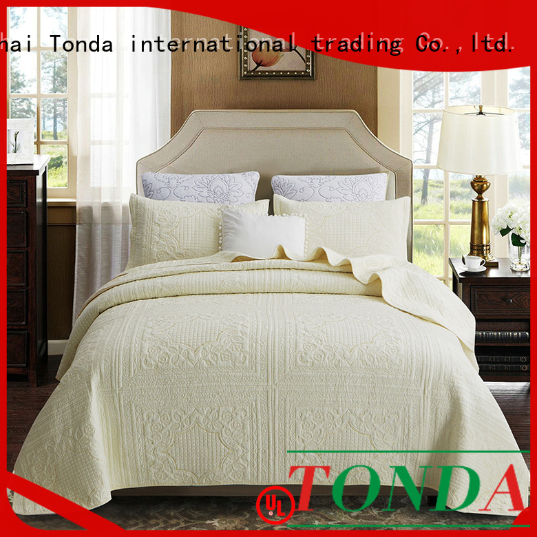 TONDA navy blue quilts and coverlets for business for business