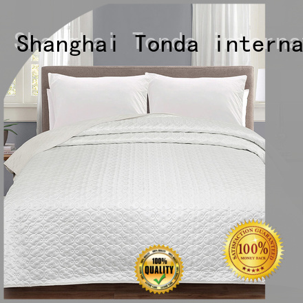 TONDA vintage satin comforter Supply for bed