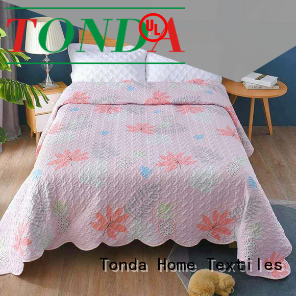 TONDA single bedspreads and quilts Supply for business