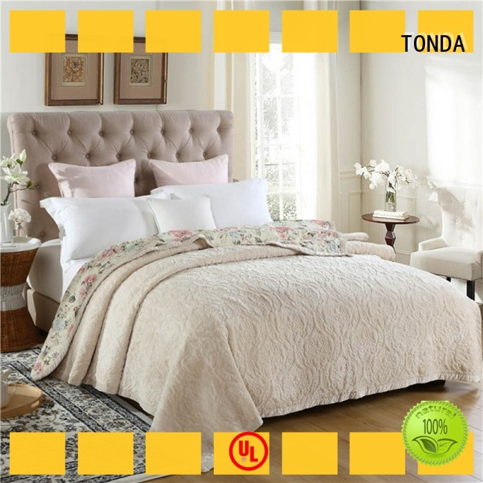 TONDA green bedspread manufacturers for family