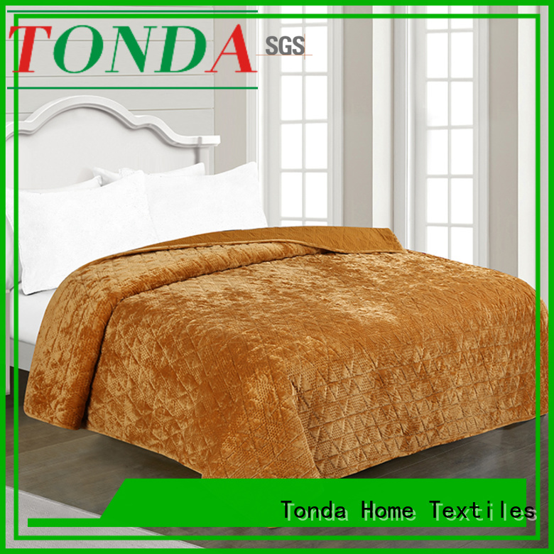 TONDA silk bedspread factory for business