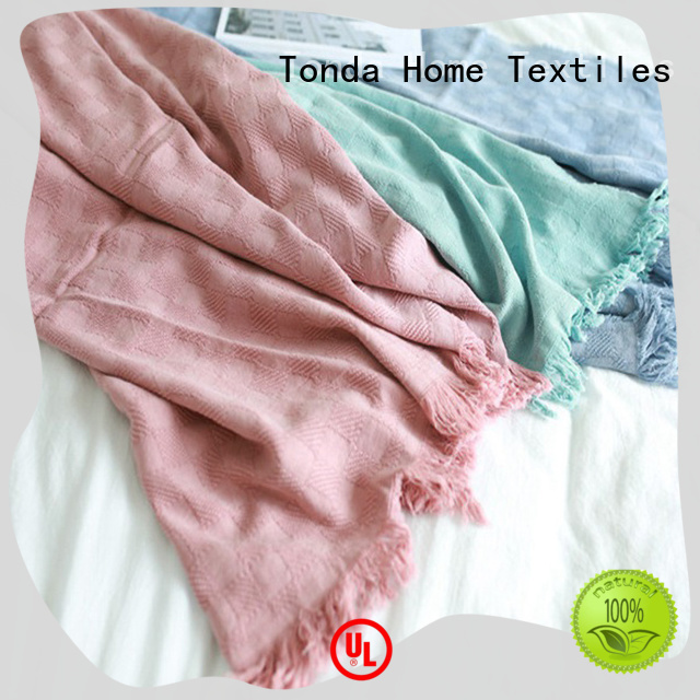 TONDA warm sofa blanket Suppliers for home decoration